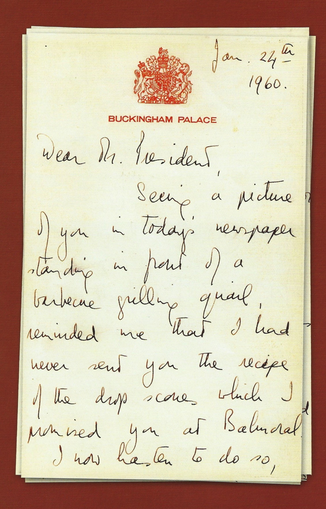 And A Final For Now Word On Scones From Queen Elizabeth