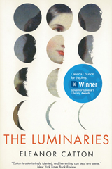 The Luminaries by Canadian-born Eleanor Catton