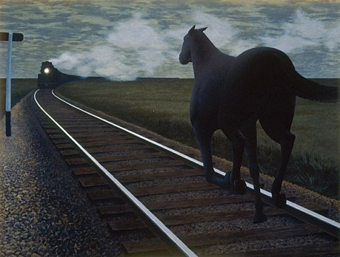 alex_colville_1954_horse_and_train