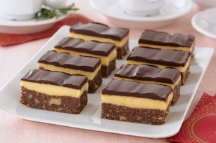 Nanaimo Bars courtesy of Kraft Canada