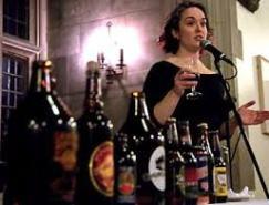 Mirella at microphone
