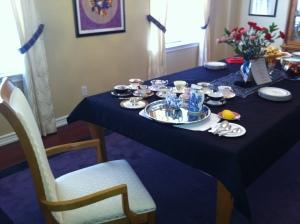 small ladyship set up